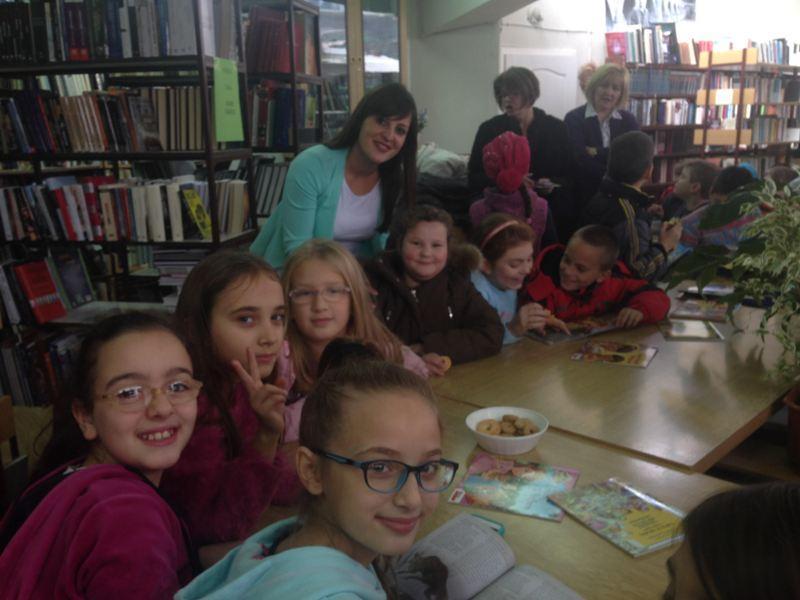 U gradskoj biblioteci  otvorena Čitaonica na engleskom