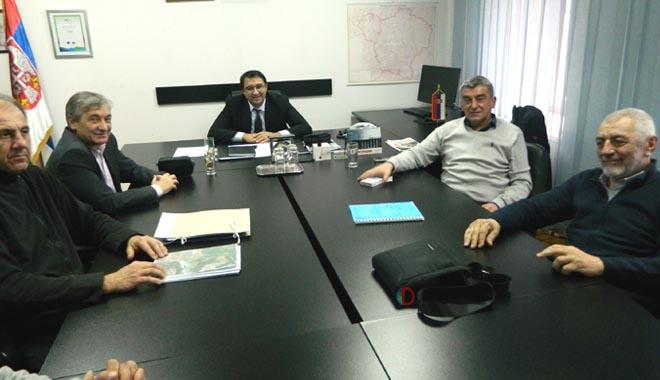 Savetnik predsednika Vlade Srbije, Dragan Vranić, u poseti opštini Kučevo