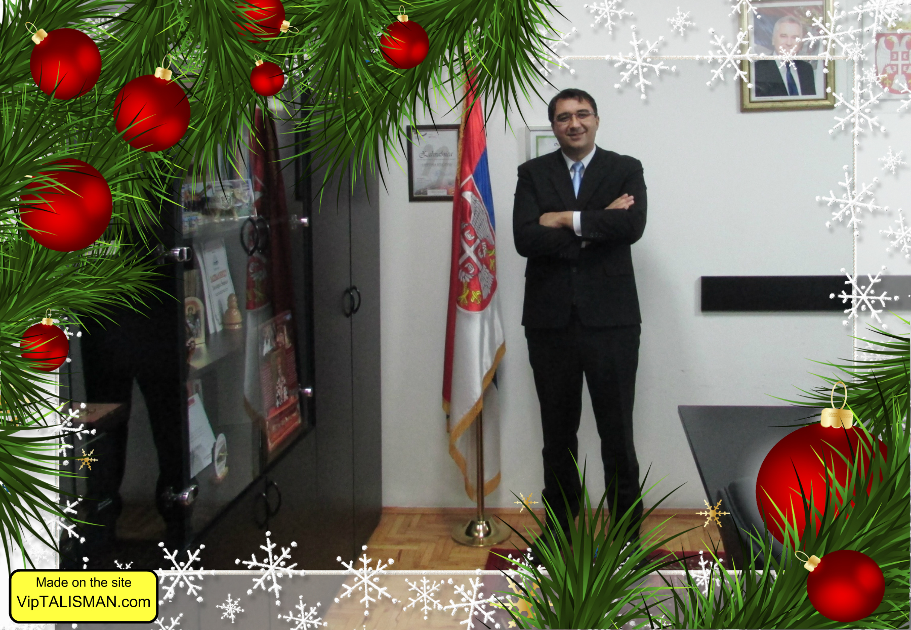 Novogodišnji intervju predsednika opštine Kučevo Novice Janoševića
