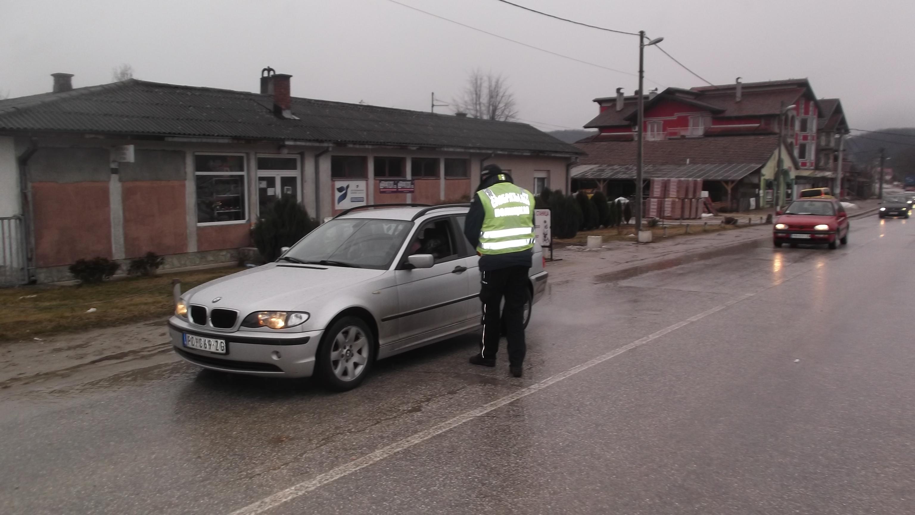 Саобраћајна полиција протекле недеље поднела  91-дну  прекршајну пријаву