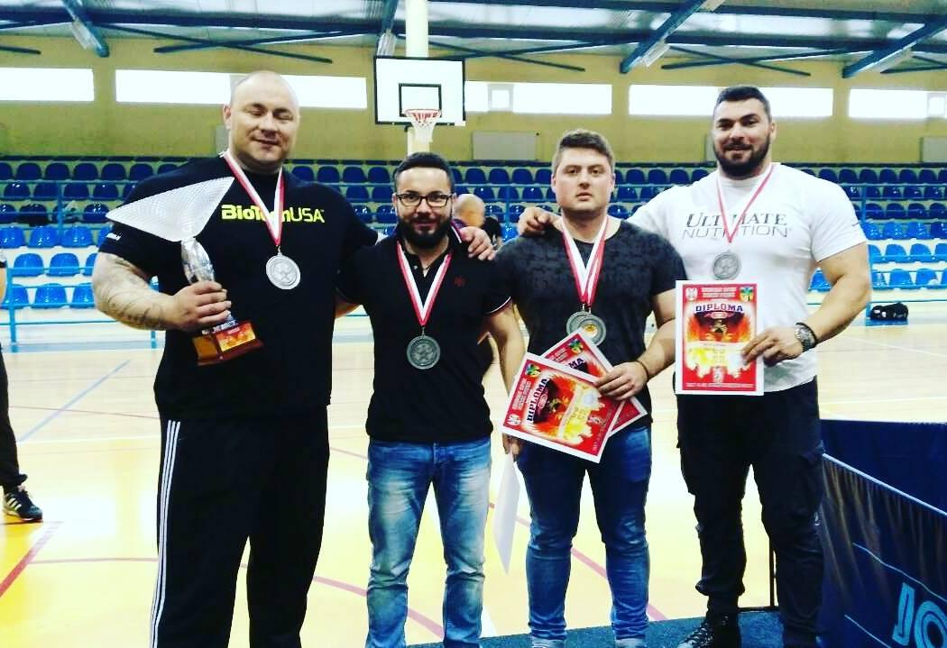 Denis Predić prvak Srbije u  u Benchpress-u !!!
