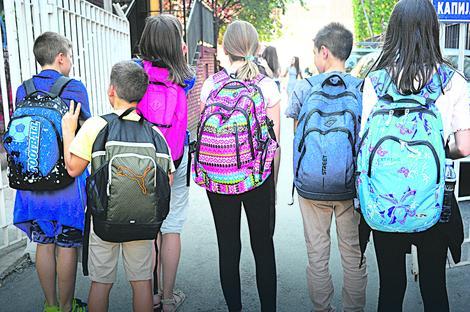 Колико су тешке школске торбе ђака ?