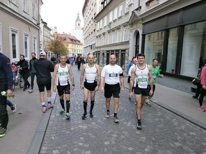 Marathon team AK Kučevo sjajan na 22. Ljubljanskom maratonu