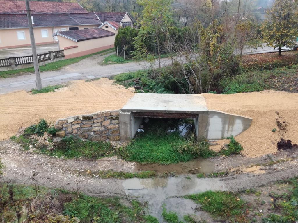 Изграђен нови мост у Великој Бресници