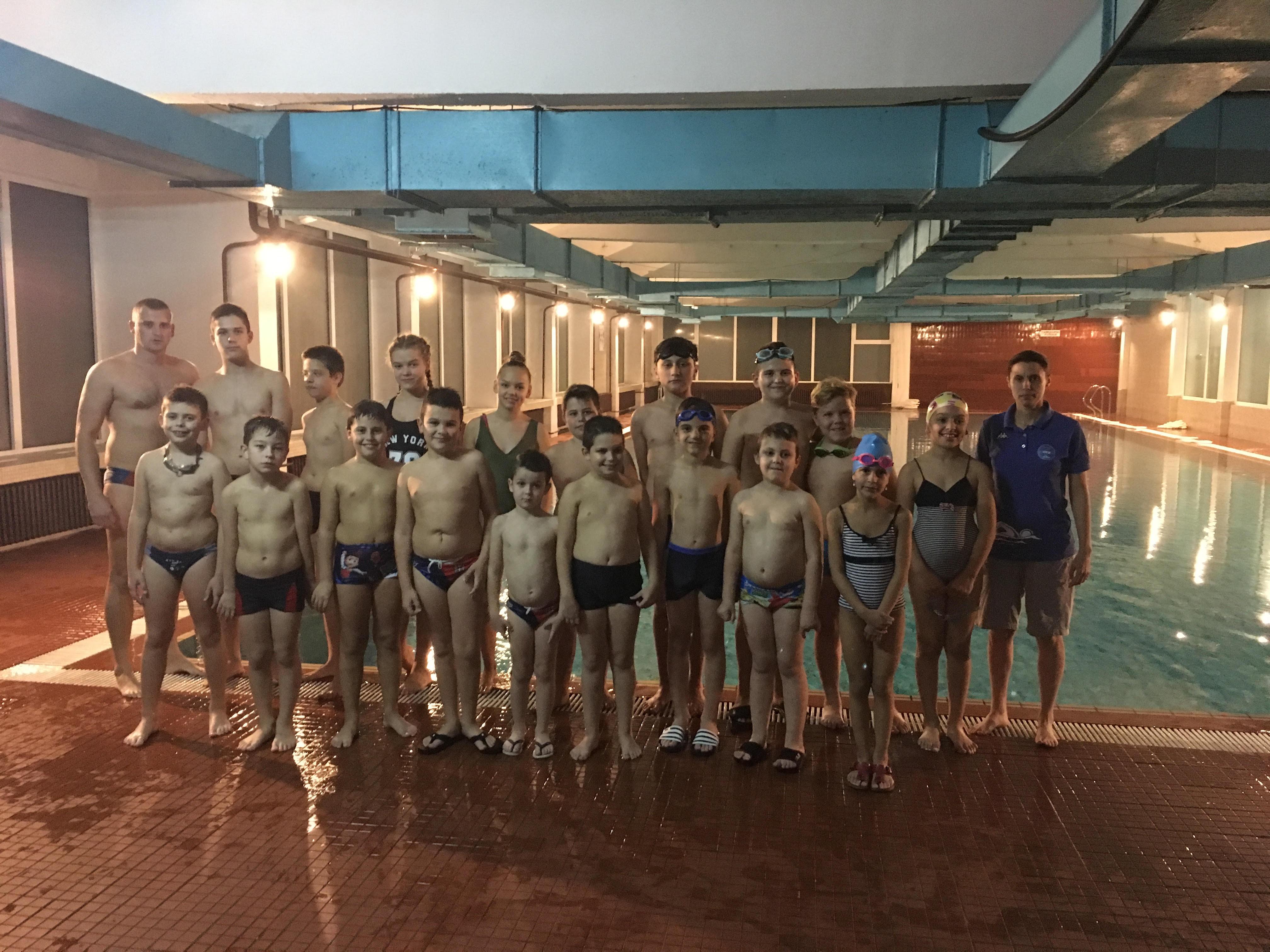 """Пливачки клуб """"Пек"""" – ускоро и на званичним такмичењима"""