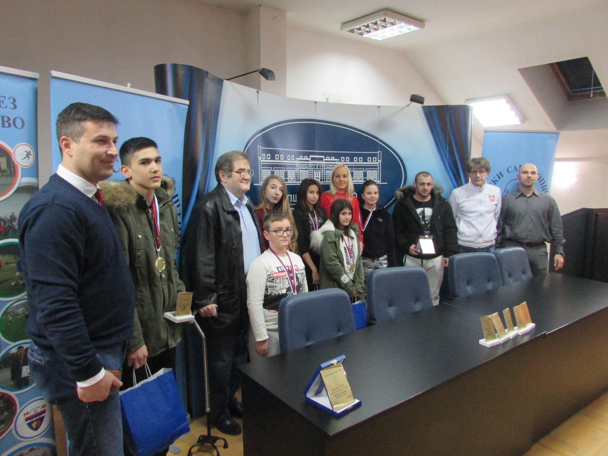 Sportski savez opštine Kučevo dodelio tradicionalne novogodišnje nagrade najboljima