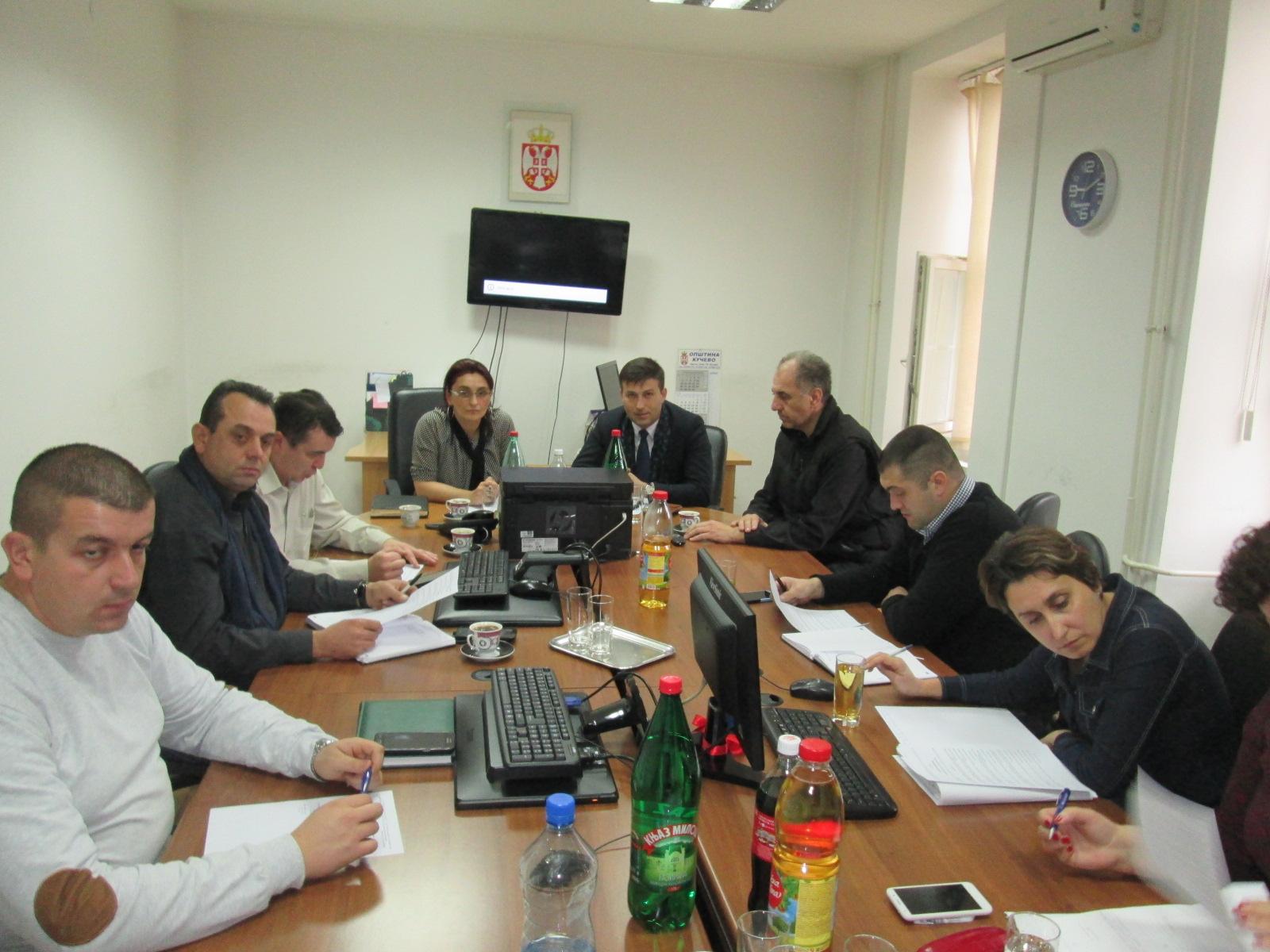 43. седница Општинског већа Општине Кучево