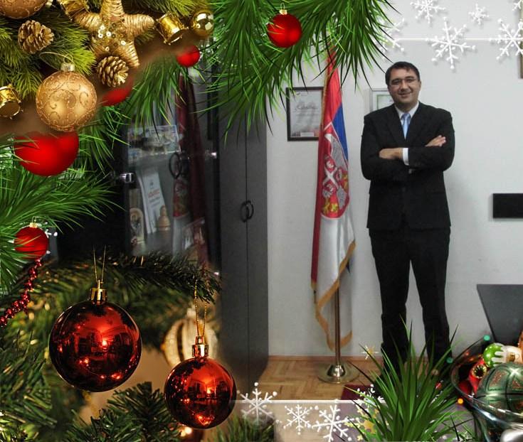 Новогодишња порука председника општине Кучево Новице Јаношевића