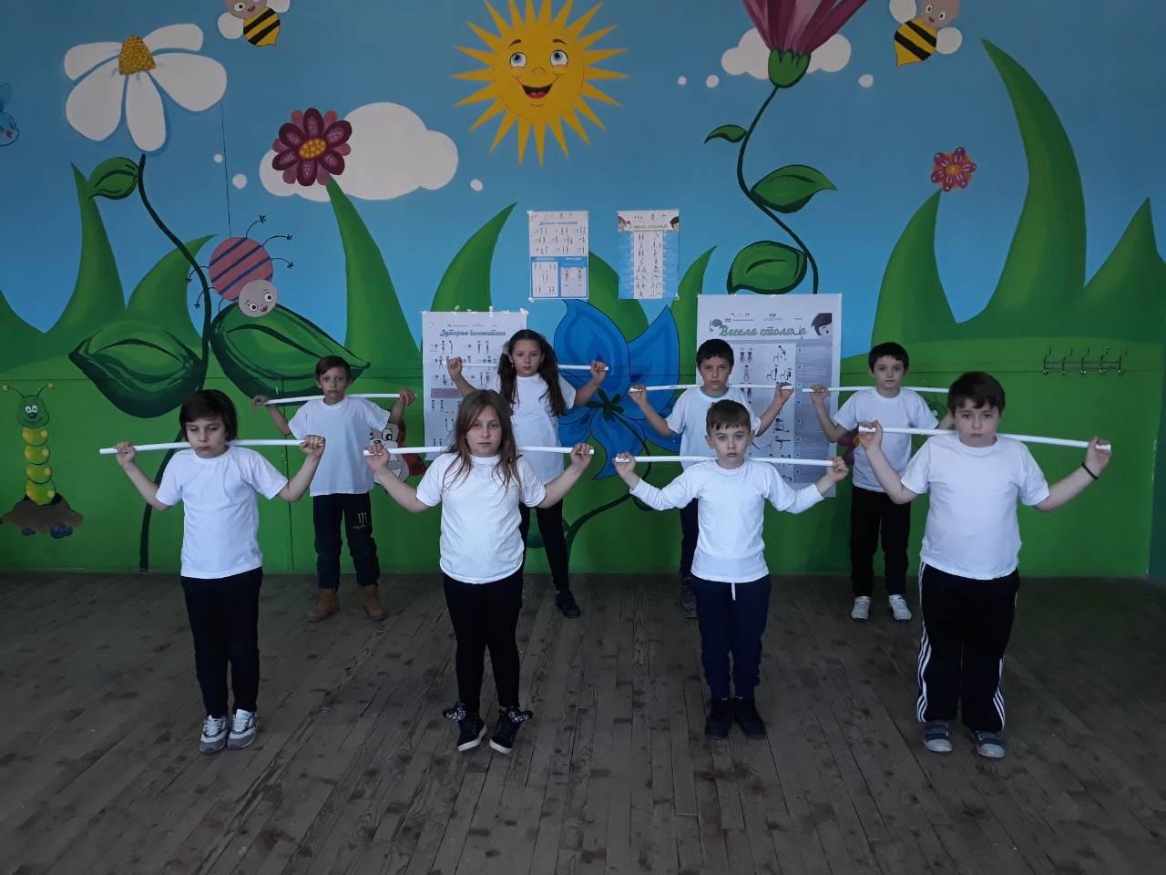 Ученици 2. разреда из Турије осмислили нове вежбе