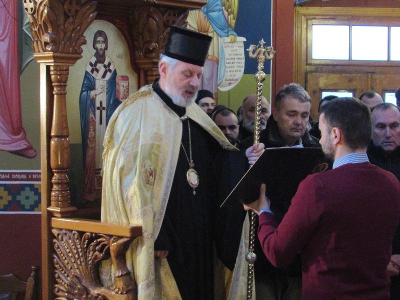 Његово Преосвештенство Епископ браничевски г.г. Игнатије у Кучеву