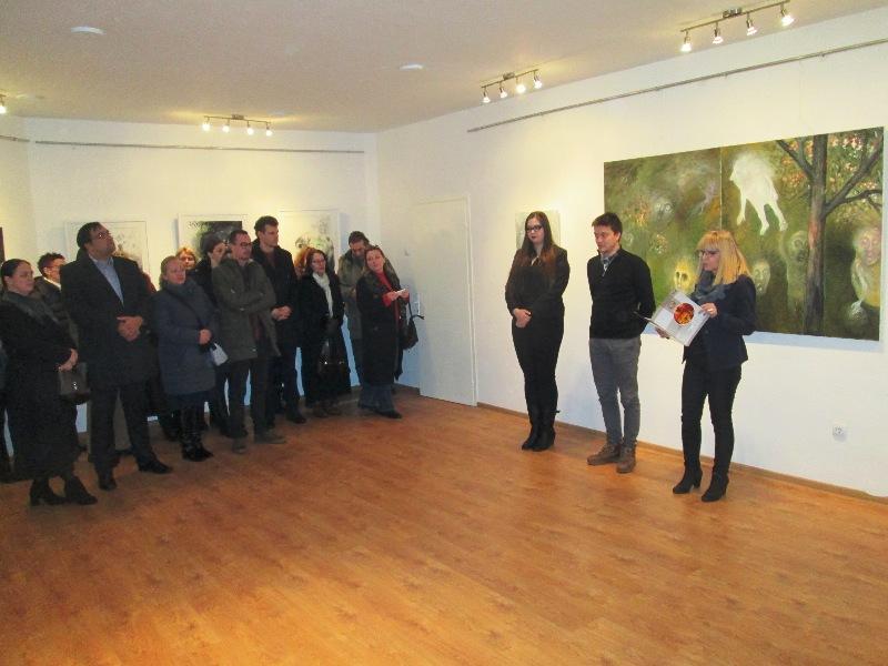 Отворена изложба Вељка Ваљаревића