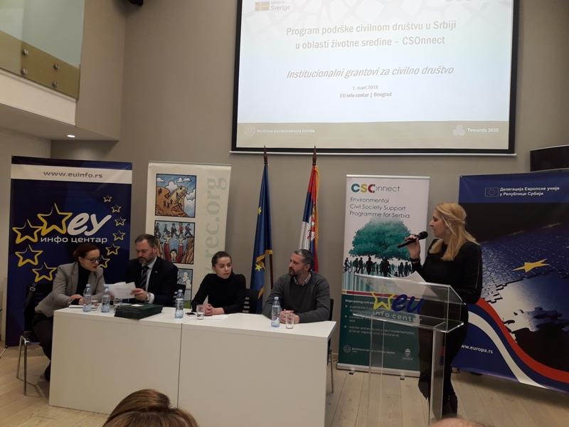 413 000 evra za završetak Programa podrške civilnom društvu u Srbiji u oblasti životne sredine – CSOnnect