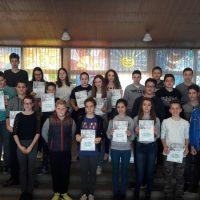 Održano Opštinsko takmičenje iz Geografije : najbolji Ilija u 7. i Anđela u 8. razredu