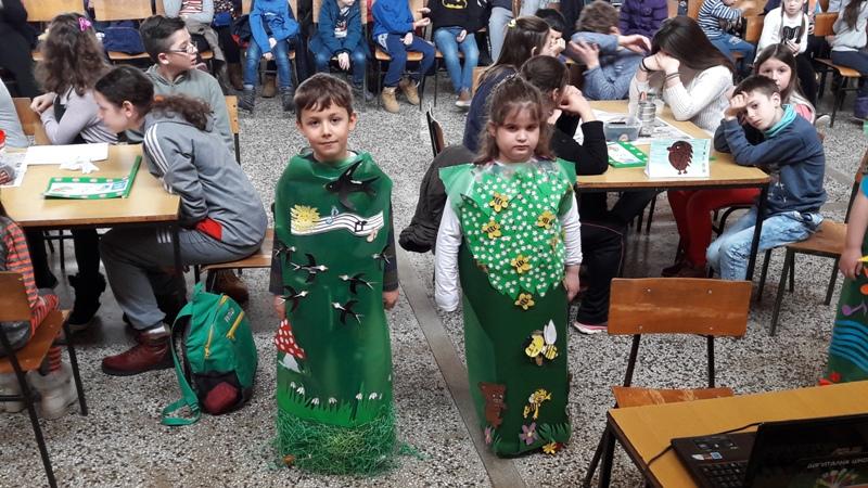 Пројектни дан Еко школе у Раброву