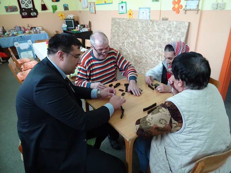 Јаношевић у Установи за старија и одрасла лица