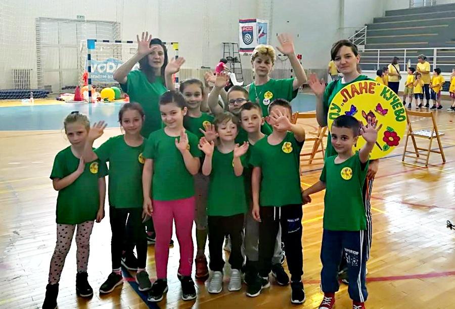 Предшколци из Кучева трећи на VIII Дечијим  регионалним пролећним играма у Петровцу