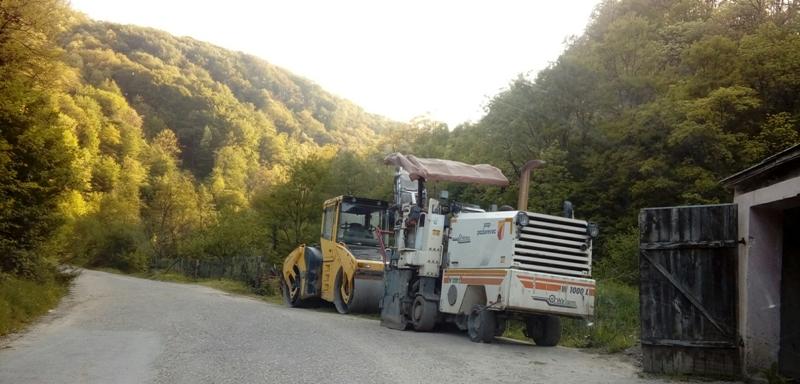 Почела и санација пута за Равниште