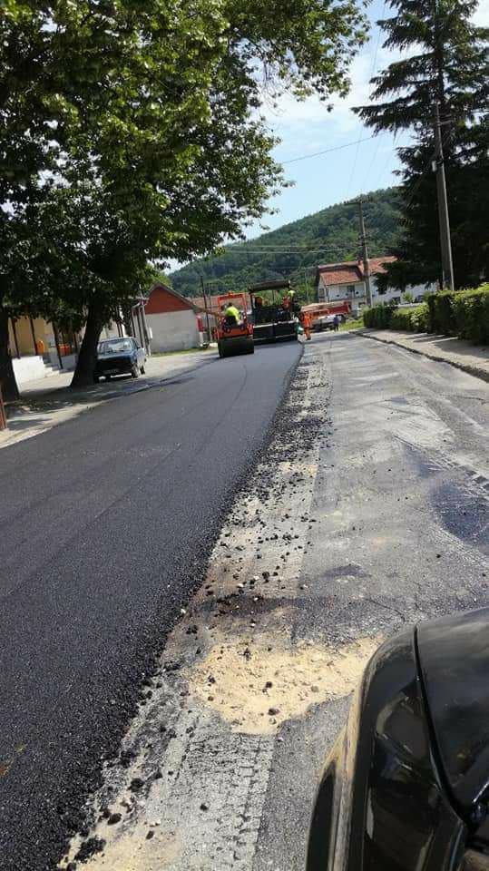 Нов асфалт и за Кучајну