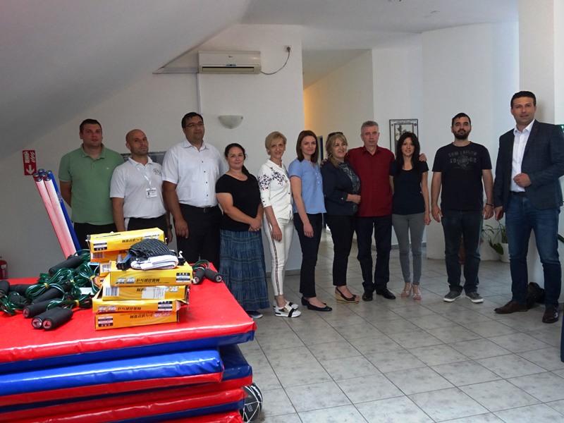 Спортска опрема и реквизити за све школе на територији општине