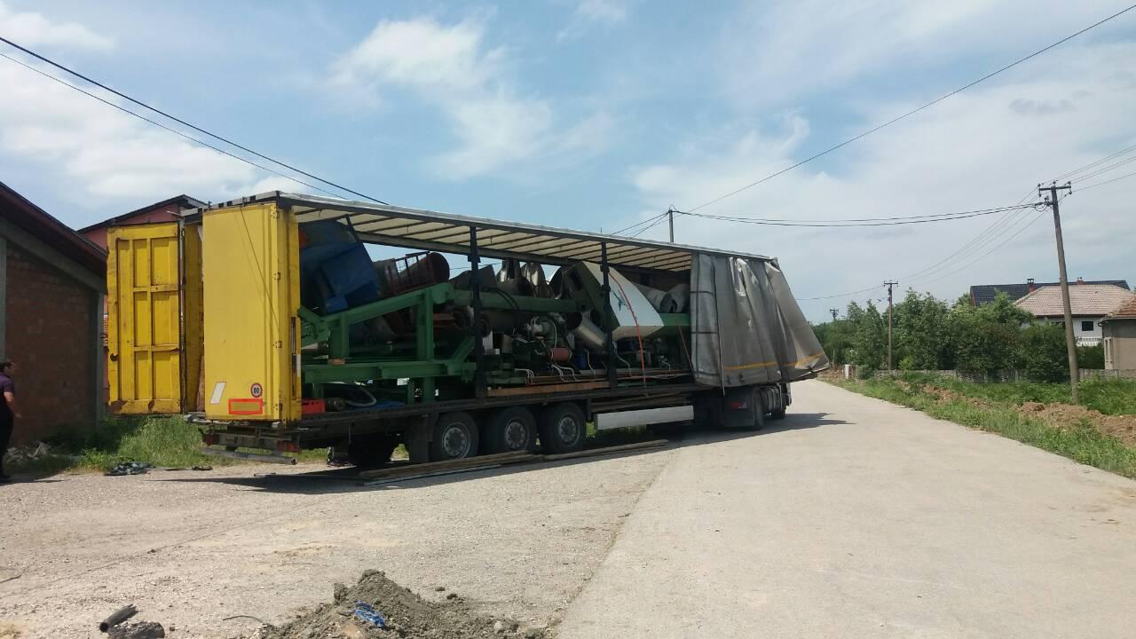 Stigla oprema za pogon rezane građe firme CLASSIWOOD DOO