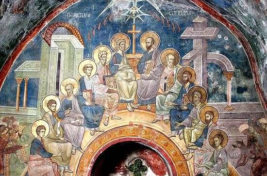 Силазак Светог Духа на Апостоле – Тројица