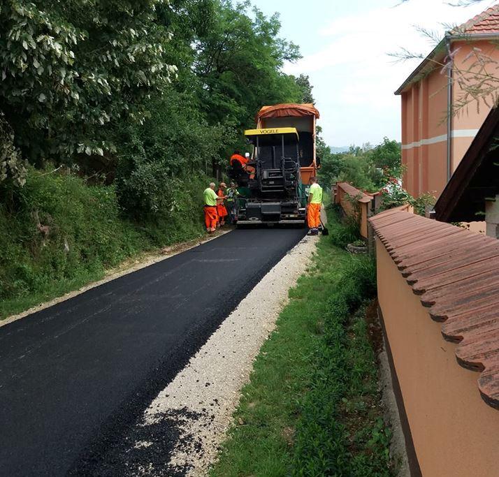 Кампања асфалтирања настављена у  Церовици