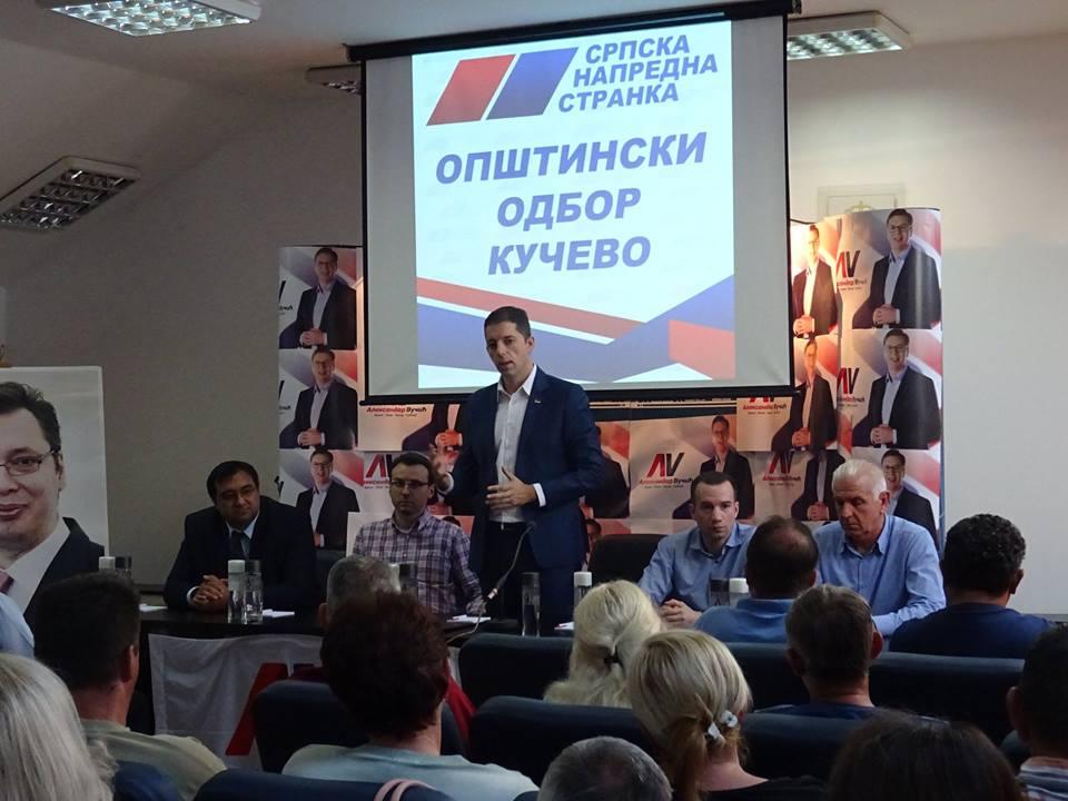 ОО СНС Кучево  подржава актуелну политику председника Александра Вучића