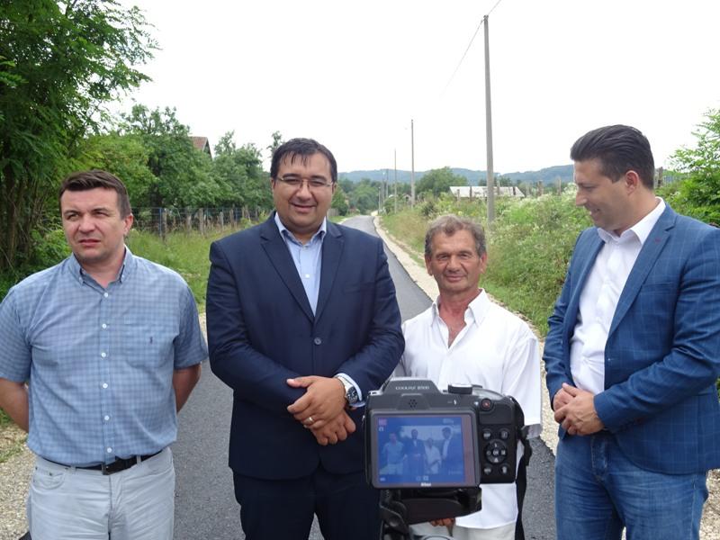 Завршен овогодишњи пројекат асфалтирања Церовице (ВИДЕО)
