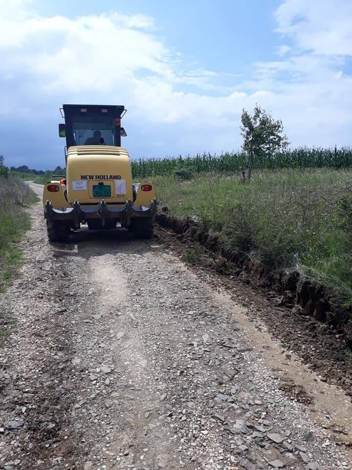 Почели припремни радови за асфалтирање пута Мустапић – Манастирица