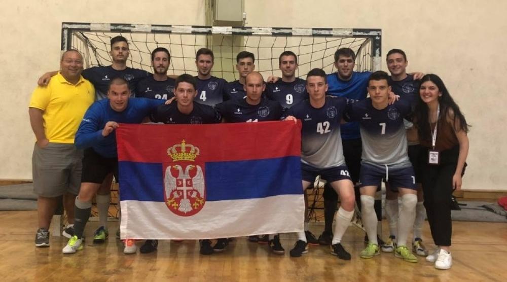 Zviždov igrač Nikola Ristanović na širem spisku futsal reprezentacije Univerziteta u Beogradu