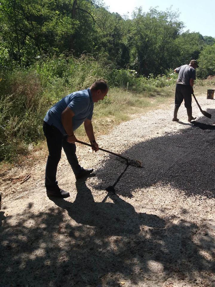 Санирање ударних рупа на свим локалним путевима у општини