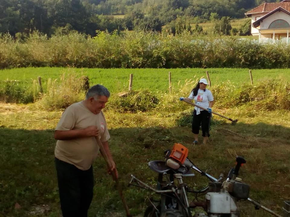 Слогом до лепшег села – радна акција у Каони