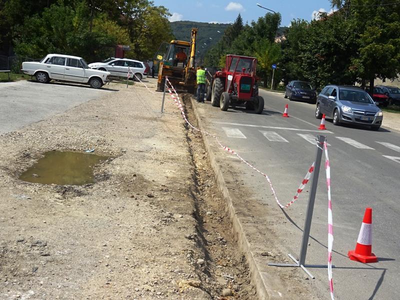 Ускоро нов тротоар за улицу Жике Поповића
