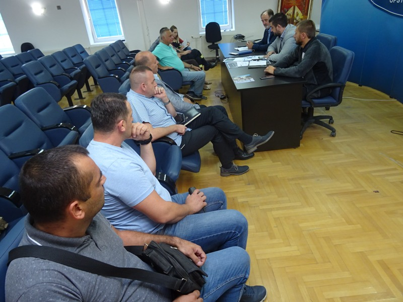 Вежба трагања за ваздухопловима  и спасавања лица  у пуном капацитету на територији општине Кучево