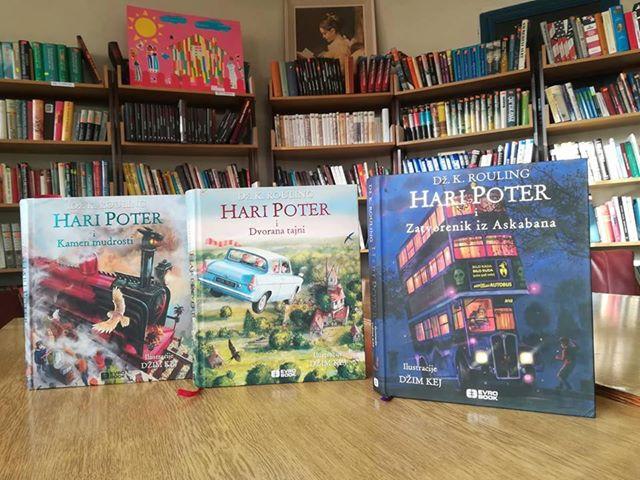 """""""Хари Потер"""" – препорука библиотеке за књигу наредне недеље"""