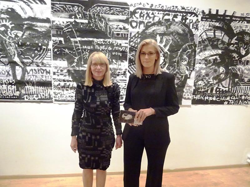 Отворена изложба слика и цртежа Јефимије Коцић