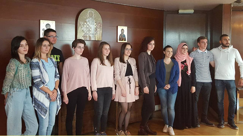 """Razlog za ponos :Nevena Bogdanović dobila stipendiju Fondacije """"Evro za znanje"""""""