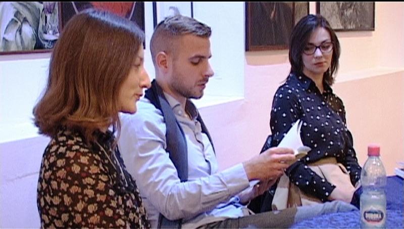 Promocija novog romana Filipa Grbića u Rabrovu