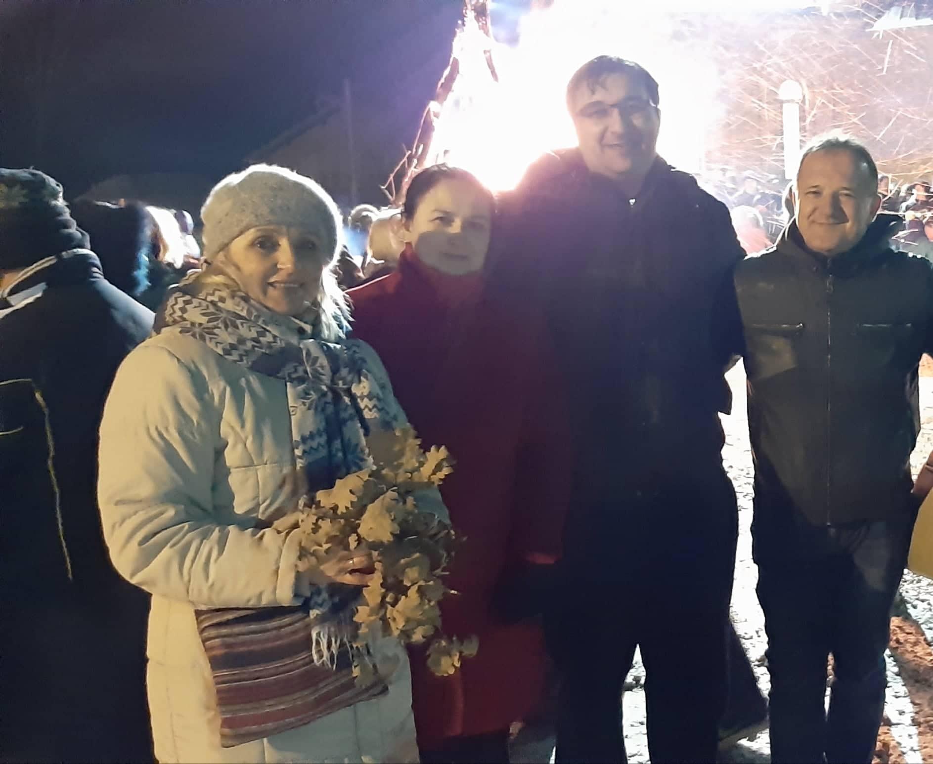 Јаношевић у Волуји честитао Божић општинском руководству