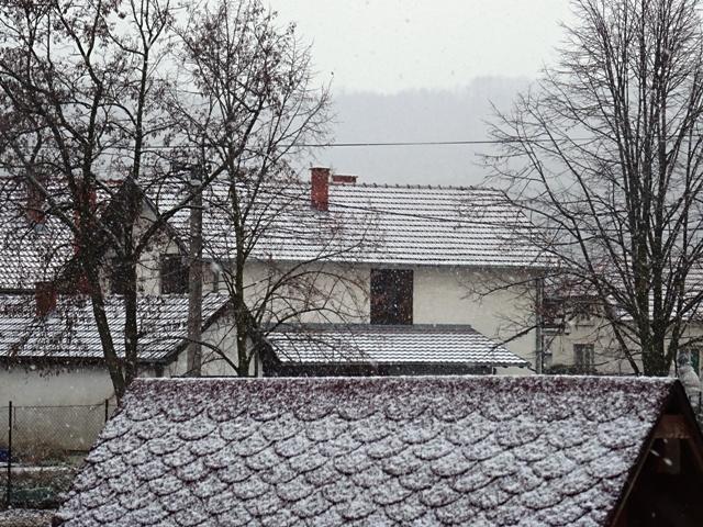 Први овогодишњи снег