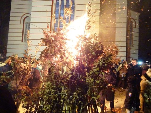 Бадње вече свечано прослављено на целој територији општине Кучево