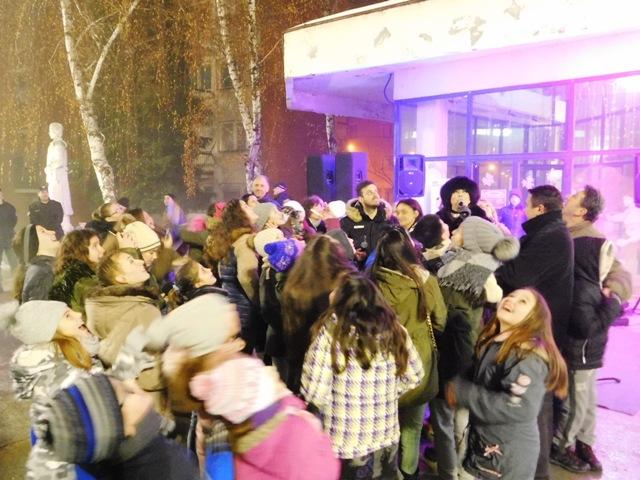 Кучево у Нову годину ушло  концертом Оље Карлеуше и Немање Ђорђевића