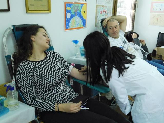У току је акција добровољног давања крви