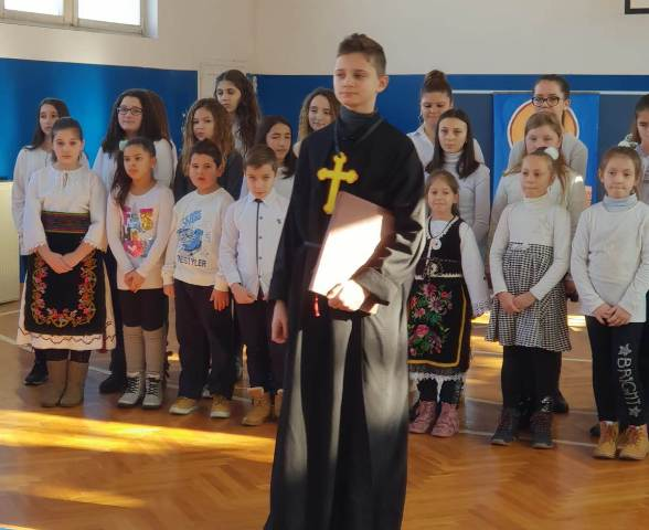 Школска слава Свети Сава прослављена и у подручним одељењима у Нересници, Шевици , Церемошњи и Буковској