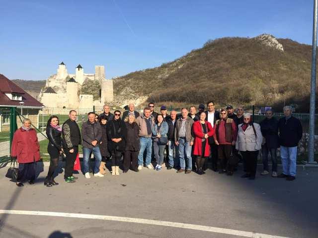 Kučevo na otvaranju obnovljene Golubačke tvrđave