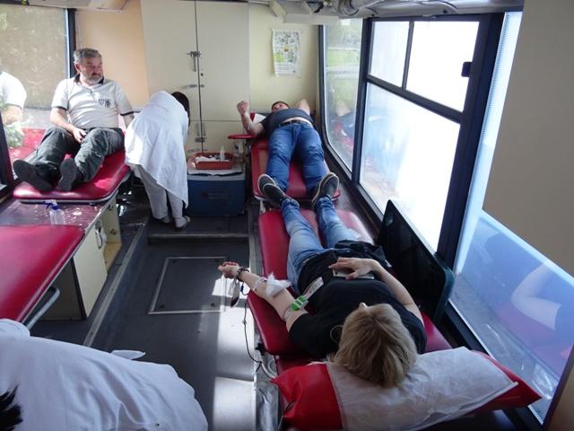 Прикупљено 35 јединица крви