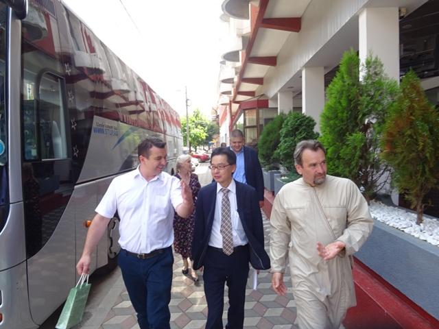 Јапански дипломата обишао знаменитости града на Пеку