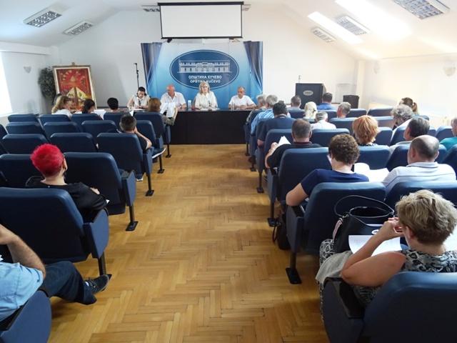 Одржана седница Скупштине општине по хитном поступку