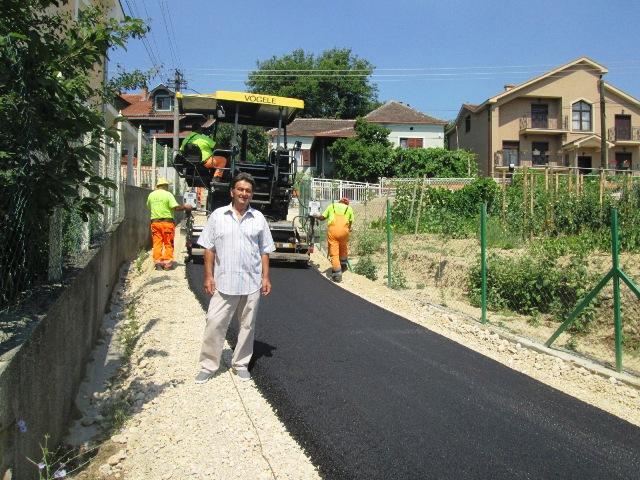 Настављено асфалтирање мањефреквентних улица на територији МЗ Кучево