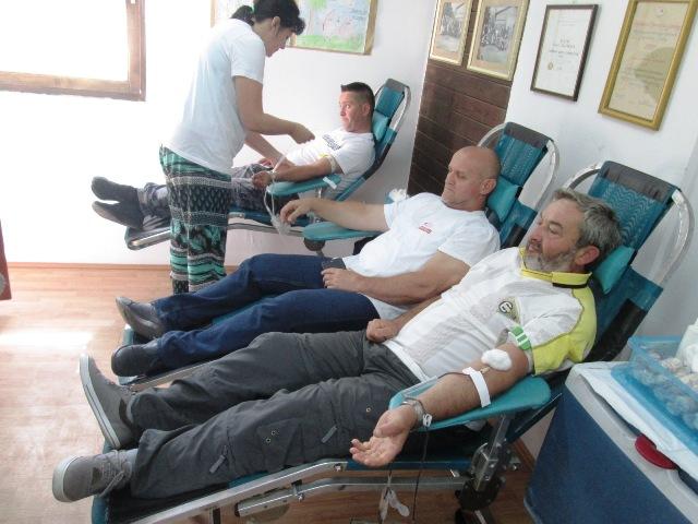 Почела Акција добровољног давања крви